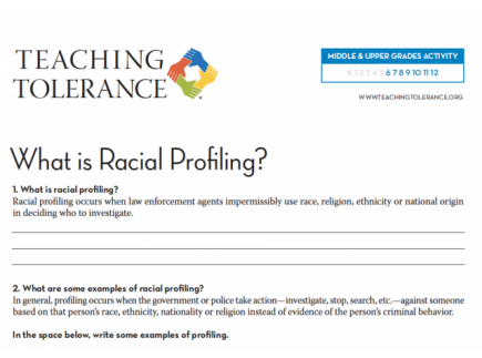 Main picture of Racial Profiling