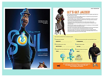 Main picture of Disney & Pixar Soul -- activities on jazz & self-discovery