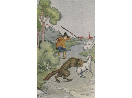 """Main picture of Fun May Not Be Funny:  SEL/ Literacy Lesson based on """"The Boy Who Cried Wolf"""""""