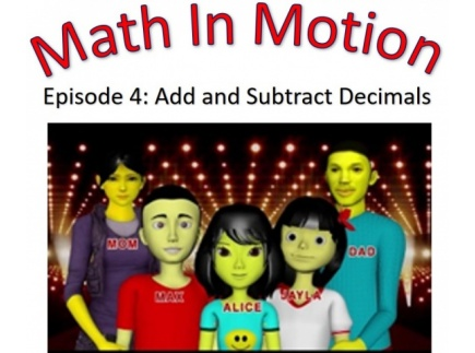 Main picture of Add and Subtract Decimals (Grade 5)
