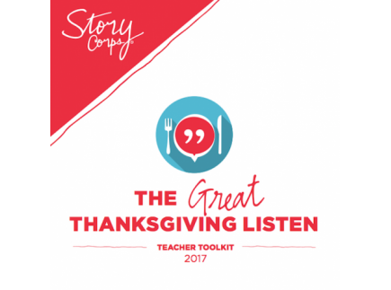 Main picture of The Great Thanksgiving Listen 2017 - Teacher Toolkit (complete pack)