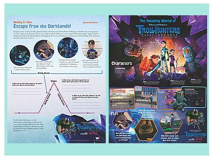 Main picture of Storytelling with award-winning Trollhunters series