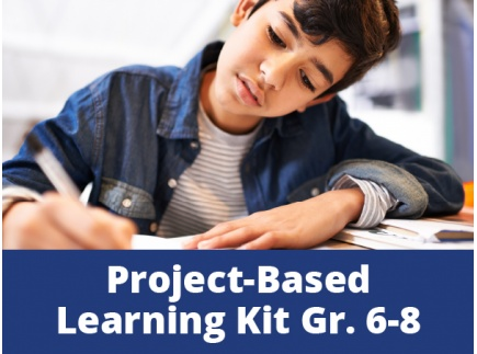 Main picture of Project-Based Learning Kits for Distance Learning: The Power of Story in a Changing World for Middle School