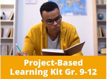 Main picture of Project-Based Learning Kits for Distance Learning: Overcoming Challenges Through the Lens of Social Justice for High School