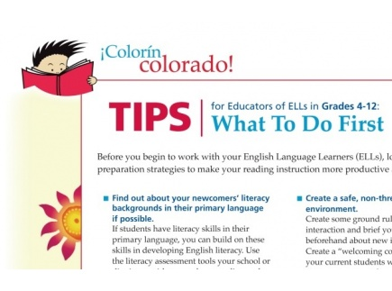Main picture of ELL Reading Strategies: What To Do First