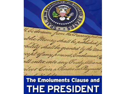 Main picture of The Emoluments Clause and the President