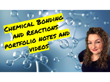 Main picture of Chemical Bonding and Reactions Portfolio Guided Notes and Videos