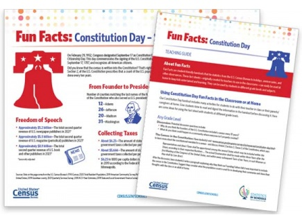 Main picture of Constitution Day Fun Facts