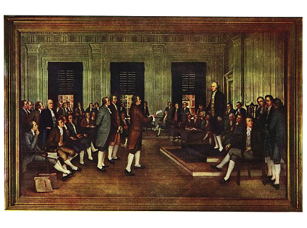 Main picture of The Constitution and Notes of Debates Lesson Plan