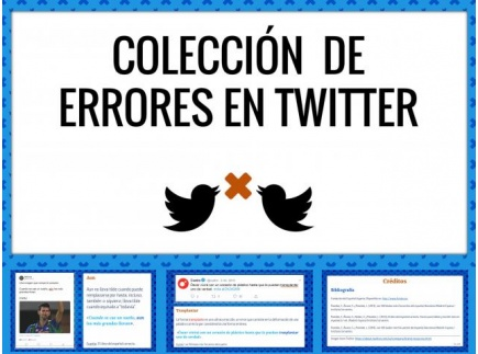 Main picture of Tweetstakes: Spelling on Twitter (Spanish)