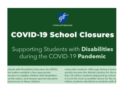 Main picture of Supporting Students with Disabilities Tip Sheet During COVID-19 School Closures