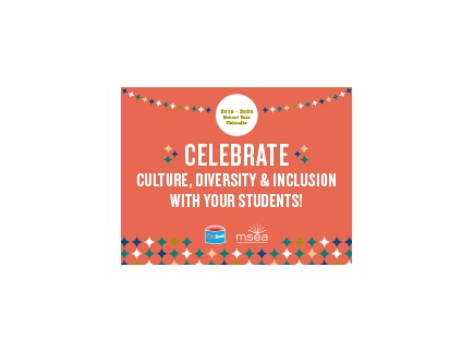 Main picture of Celebrate Culture, Diversity and Inclusion with your Students (2019-2020 School Year Calendar)