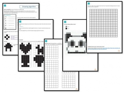 Main picture of Hour of Code Task - Drawing algorithms