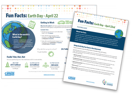 Main picture of Earth Day Fun Facts