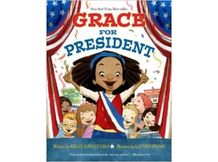 Main picture of Grace for President (Book Discussion Guide)
