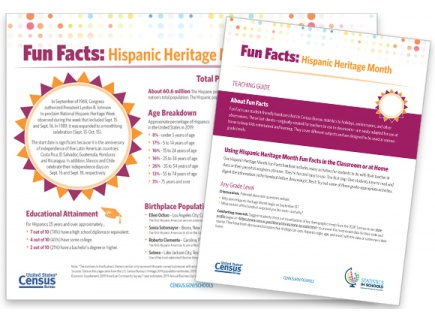 Main picture of Hispanic Heritage Month Fun Facts