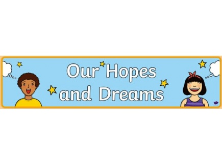Main picture of Hopes and Dreams HyperDoc template for positive emotional wellness and dreams for the future for Teachers, Parents and Studnets During