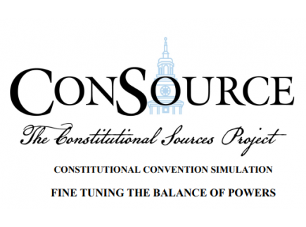Main picture of The Constitutional Convention: Balance of Powers