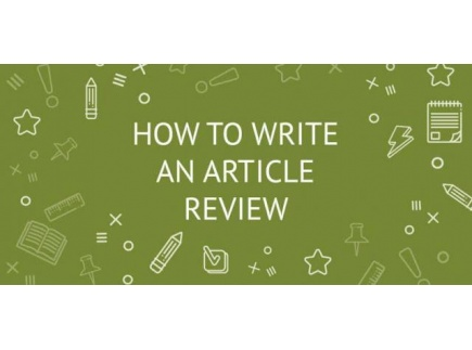 Main picture of Guidelines for Article Reviewing