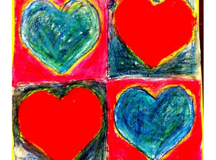 Main picture of Jim Dine Hearts Art Lesson