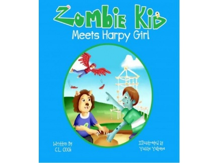 Main picture of Compose and Justify Opinion- Zombie Kid Meets Harpy Girl