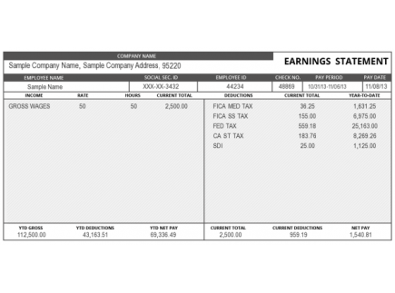 Main picture of The Fine Print: Reading Your Pay Stub