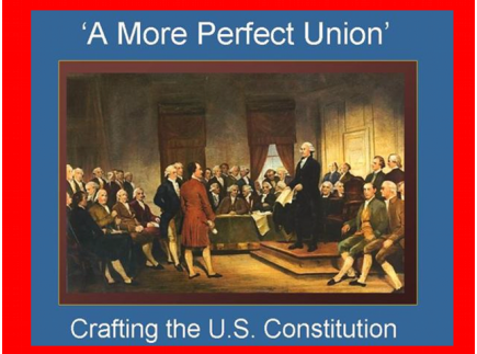 Main picture of 'A More Perfect Union': Constitution Day Activity
