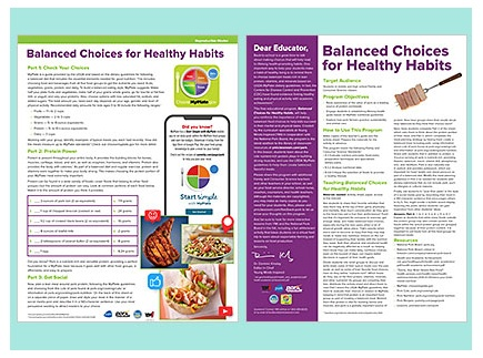 Main picture of Balanced Choices for Healthy Habits - spotlight on pork