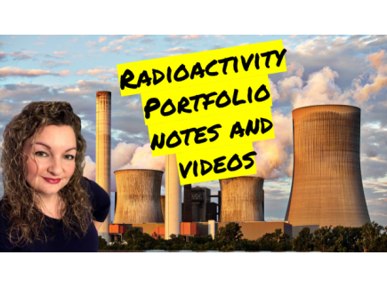 Main picture of Radioactivity Unit Portfolio Guided Notes and Videos