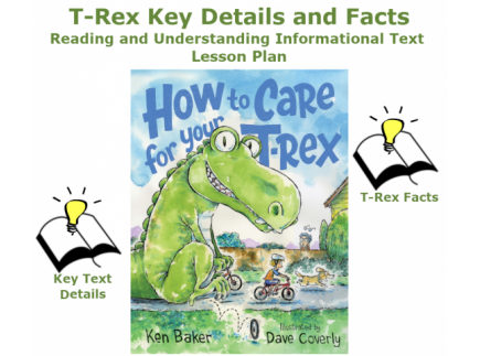 Main picture of Reading and Understanding Informational Text with T-Rex Lesson Plan