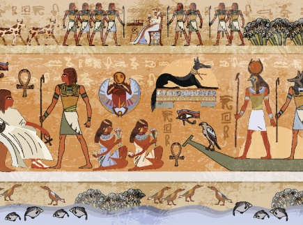 Ancient Egyptian farming compared to modern