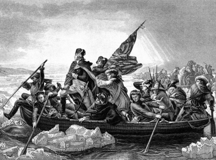 George Washington crossing the River Delaware