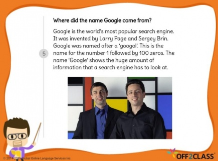 The History of Google- Free Off2Class ESL Lesson Download