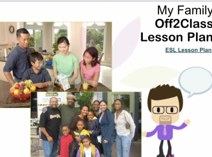 My Family- Free ESL Lesson Download