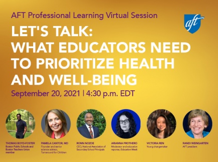 Let's Talk: What Educators Need to Prioritize Health and Well-Being