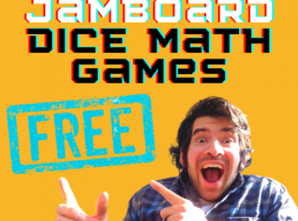 3 FREE MATH JAMBOARD GAMES WITH DICE