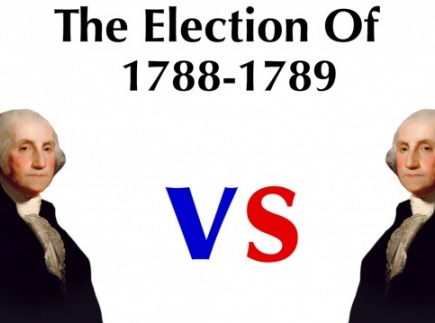 The First U.S. Presidential Election Video & Quiz (Designed for classroom application)