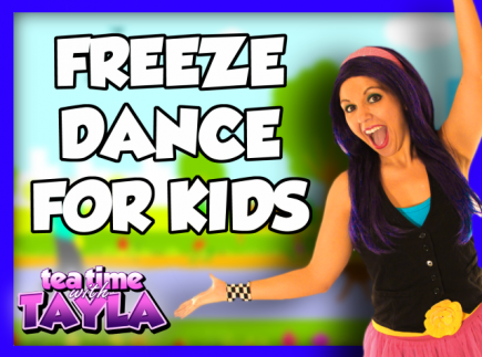 Freeze Dance for Kids, Action Songs for Kids, Music for Kids and