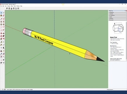 SketchUp – An Introductory 3D Modeling STEM Activity For