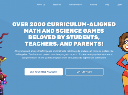 Legends of Learning: OVER 2000 CURRICULUM-ALIGNED MATH AND SCIENCE GAMES BELOVED BY STUDENTS, TEACHERS, AND PARENTS!