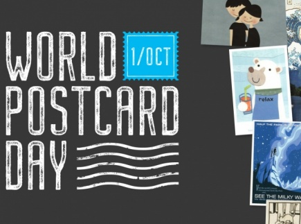 Discover how mail works and create a postcard to send on World Postcard Day