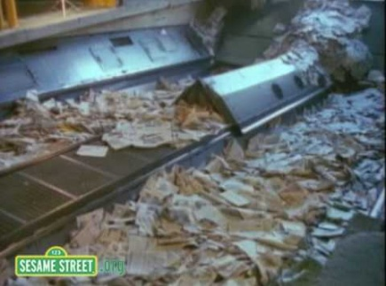 Sesame Street: Recycling Newspaper