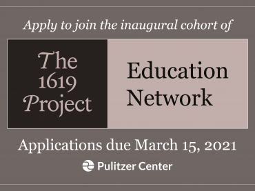 the 1619 project education network applications
