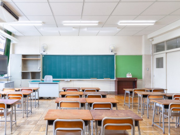 empty classroom coronavirus school closures