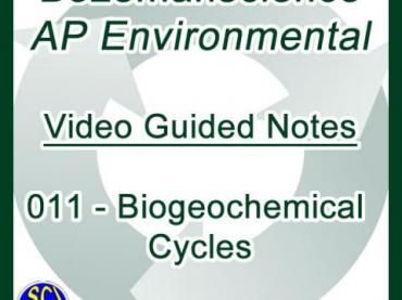 Bozemanscience - AP Environmental Science - 011 - Biogeochemical Cycles