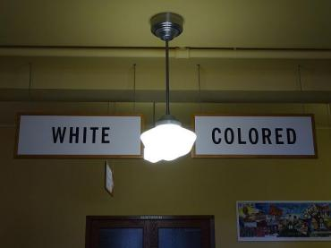 White-Colored - Interior of Former Monroe Elementary School - Brown v. Board of Education Historic Site - Topeka - Kansas - USA