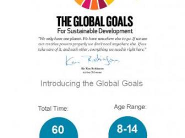 Introducing the Global Goals for Sustainable Development