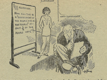 Flier Promoting Women's Suffrage Amendment
