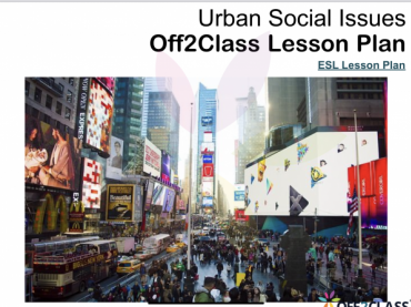 Urban Social Issues Free ESL Lesson Download