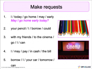 Requests – Would, could, can, may and might: Free Off2Class ESL Lesson Download